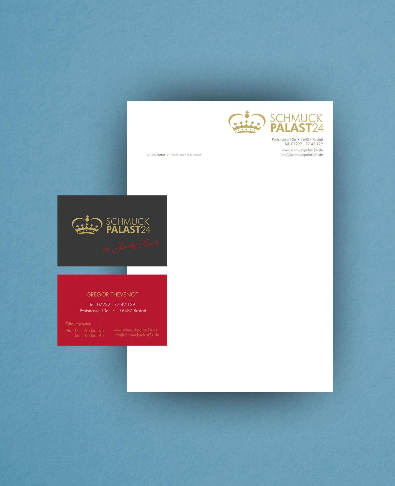 BLANA.DE - Refernenzen: Briefpapier und Visitenkarte