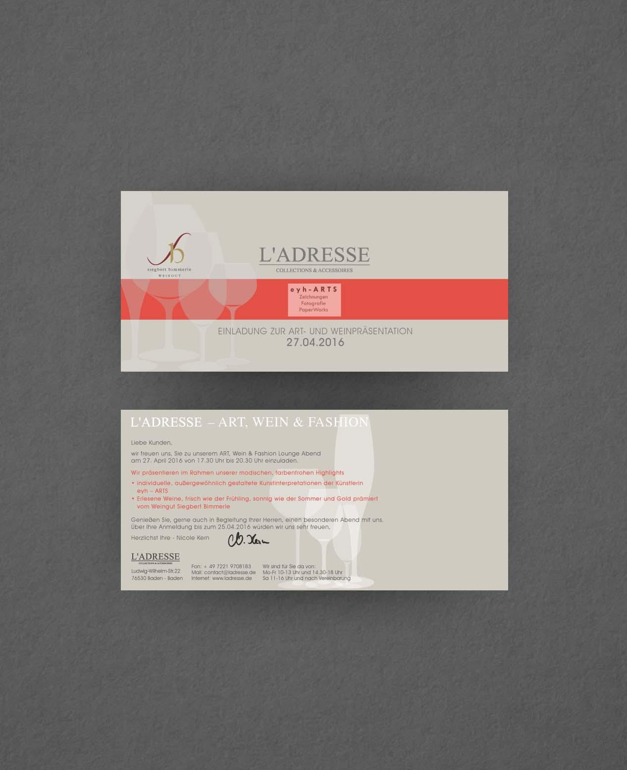 Referenzen | references: Postkarte | postcard